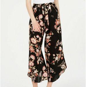 American Rag Floral Print Ankle Pants